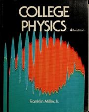 College physics. by Robert L. Weber