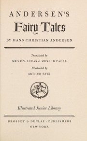 Cover of: Andersens Tales   Gb by Hans Christian Andersen