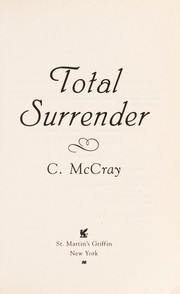 Cover of: Total surrender | Cheyenne McCray