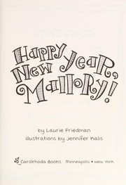 Cover of: Happy New Year, Mallory! | Laurie B. Friedman
