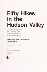Cover of: Fifty Hikes in the Hudson Valley | Barbara McMartin