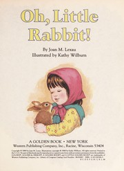 Cover of: Oh, Little Rabbit! | Golden Books