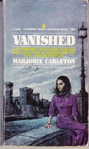 Cover of: Vanished | Marjorie Carleton
