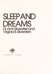 Cover of: Sleep and dreams | Alvin Silverstein