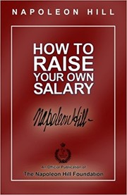 Cover of: How to Raise Your Own Salary | Napoleon Hill