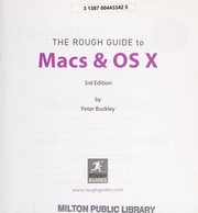 Cover of: The rough guide to Macs & OS X | Peter Buckley
