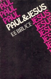 Cover of: Paul and Jesus | F.F. Bruce
