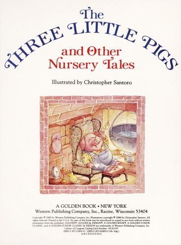 Three Little Pigs/Jr Lib by Golden Books