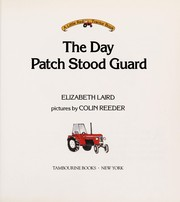 Cover of: The day Patch stood guard | Elizabeth Laird