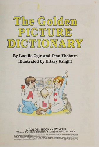 Golden Picture Dictionary by Golden Books