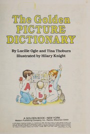 Cover of: Golden Picture Dictionary | Golden Books