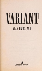 Cover of: Variant | Alan Engel