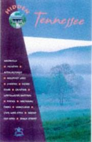 Cover of: Hidden Tennessee (Hidden Tennessee, 2nd ed, 1999) by Marty Olmstead