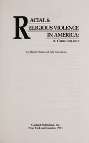 Cover of: Racial & religious violence in America | Newton, Michael