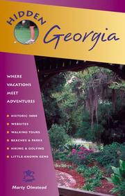 Cover of: Hidden Georgia by Marty Olmstead