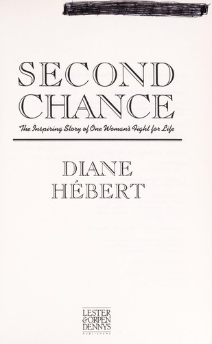 Second chance by Diane Hébert