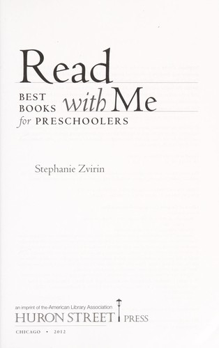 Read with me by Stephanie Zvirin