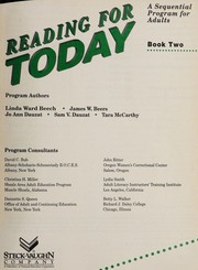 Cover of: Reading for Today Book 5 (Reading for Today) | Linda Ward Beech
