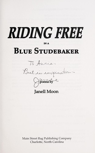 Riding free in a blue Studebaker by Janell Moon