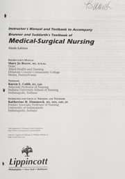 Cover of: Textbook of Medical-Surgical Nursing | Smeltzer