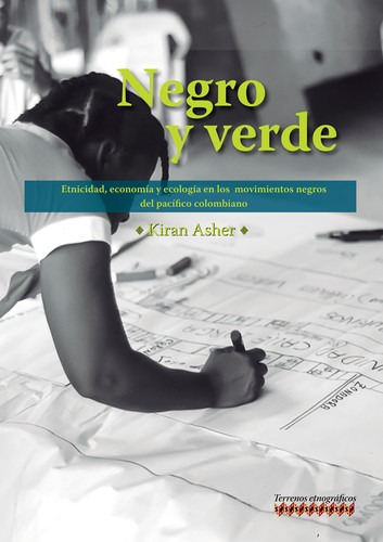 Negro y verde by Kiran Asher