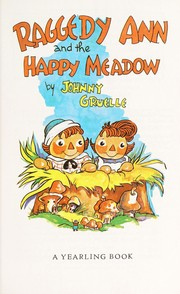 Cover of: Raggedy-Happy Meadow | Johnny Gruelle