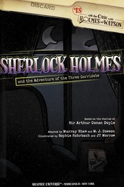 Cover of: Sherlock Holmes and the adventure of the three Garridebs | Murray Shaw