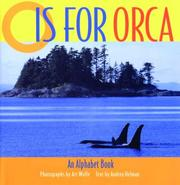 Cover of: O is for orca | Andrea Helman
