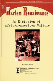 Cover of: The Harlem Renaissance | Richard Worth