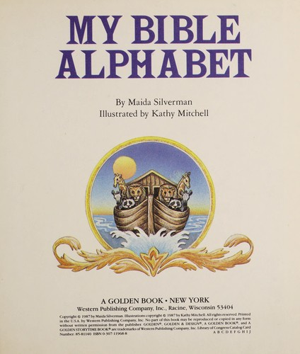 My Bible Alphabet Storytime by Golden Books