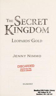 Cover of: Leopards' gold | Jenny Nimmo