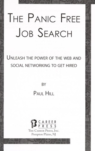 The panic free job search by Paul Hill