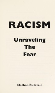 Cover of: Racism | Nathan Rutstein