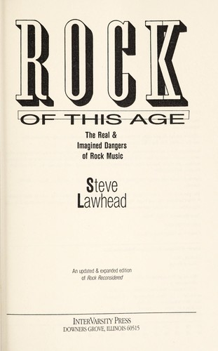 Rock of this age by Stephen R. Lawhead
