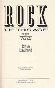 Cover of: Rock of this age | Stephen R. Lawhead