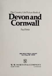 Cover of: The Country Life Picture Book of Devon and Cornwall | Paul Pettit