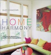 Cover of: Home harmony | Suzy Chiazzari