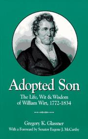 Cover of: Adopted Son | Gregory Kurt Glassner