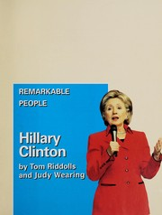 Cover of: Hillary Clinton | Tom Riddolls