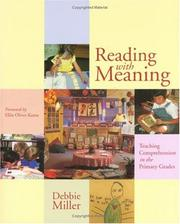Cover of: Reading With Meaning | Debbie Miller