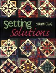 Cover of: Setting Solutions | Sharyn Squier Craig