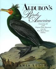 Cover of: The birds of America by John James Audubon