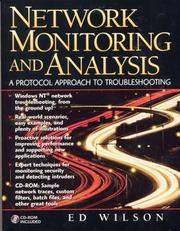 Cover of: Network monitoring and analysis | Ed Wilson