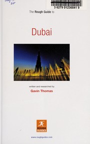 Cover of: The rough guide to Dubai | Gavin Thomas
