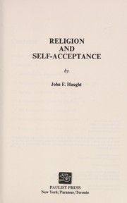 Cover of: Religion and self-acceptance | John F. Haught