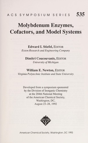 Molybdenum enzymes, cofactors, and model systems by