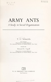 Cover of: Army ants | T. C. Schneirla