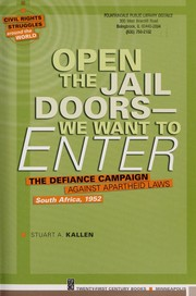 Cover of: Open the jail doors -- we want to enter | Stuart A. Kallen