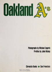 Cover of: Oakland A's | Michael Zagaris