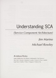 Cover of: Understanding SCA (Service Component Architecture) | Jim Marino